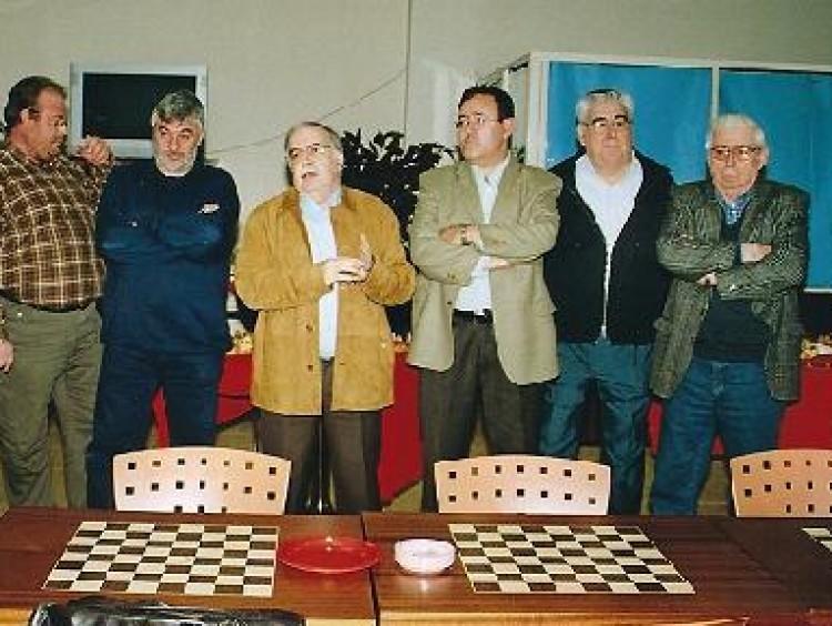 Presentación oficial de la sección de ajedrez de la Societat Coral Colón