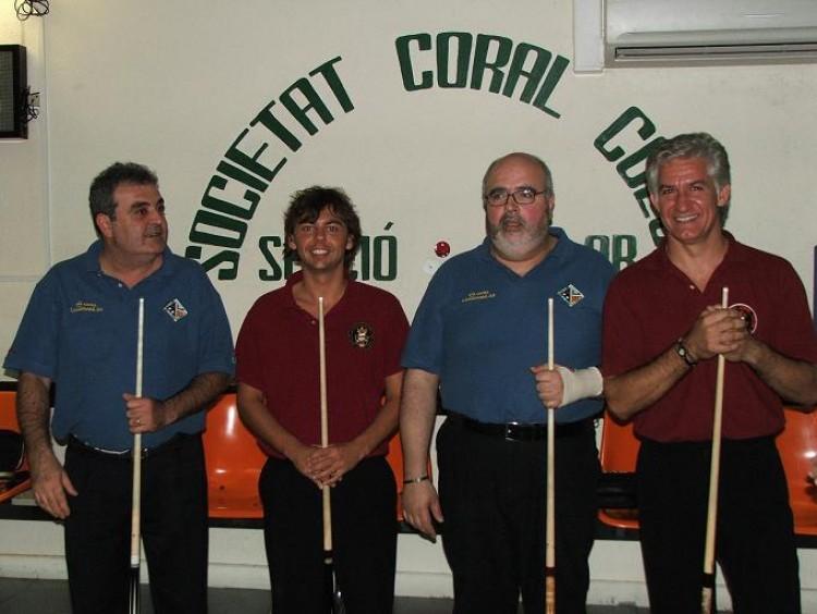 Lliga cat. 3 bandes, 8ª jorn.: S.C. Colon 4, Lleida 4