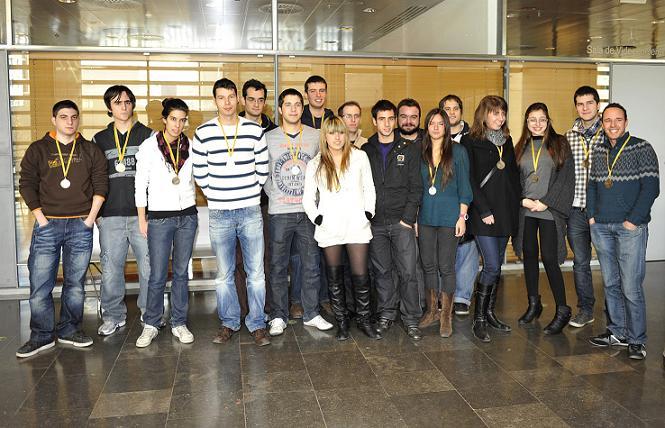 Alvar Alonso, campió universitari de Catalunya