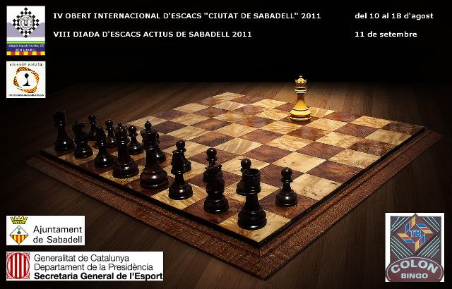Torneigs d'Escacs Estiu 2011