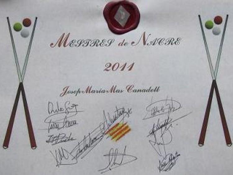 """Mia Mas guanya el """"Mestres de Nacre"""""""
