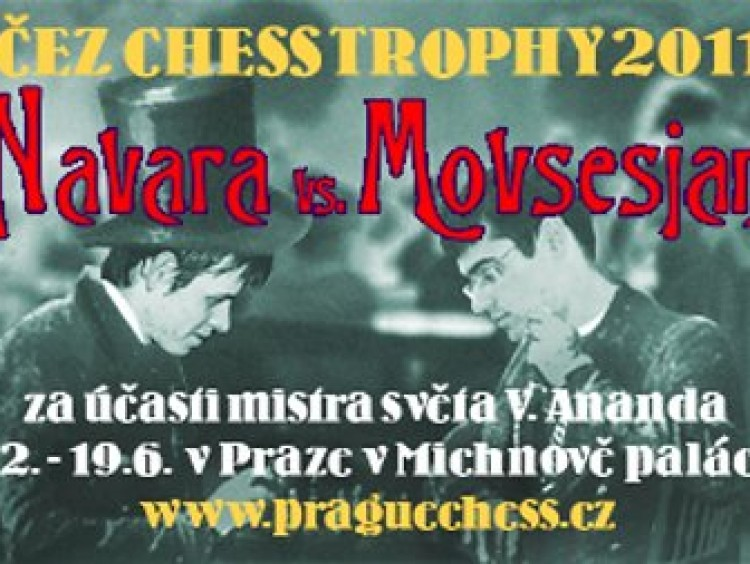 Navara gana a Movsisian en el Chess Trophy 2011