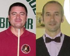 J. Espinasa i J. Gassó, 2n i 3r a la final de banda