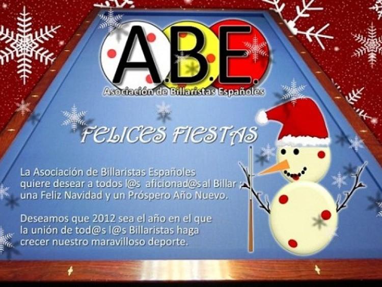 Felicitación navideña de la ABE