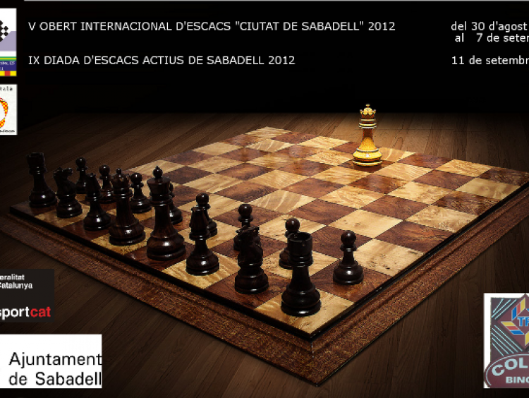 Torneigs d'Escacs Estiu 2012