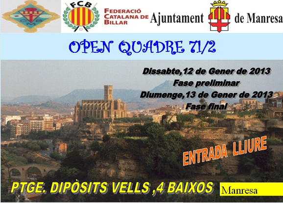 Open Manresa Cuadro 71/2: Espinasa campeón