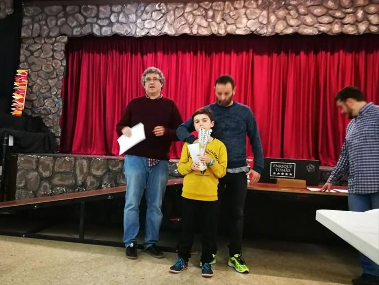 Daniel Millor sub-12 de l'Actius de Foment Martinenc